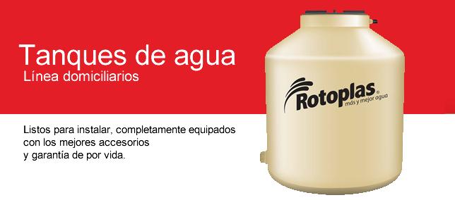 Tanques de agua Rotoplas