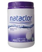 Cloro Pastillas 50 gr. Nataclor