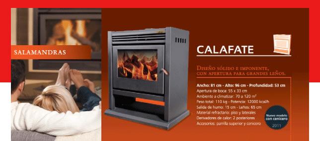 CALAFATE (12.000 Kcal/h.)