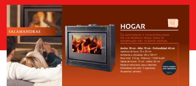 TR HOGAR (11.000 Kcal/h.)