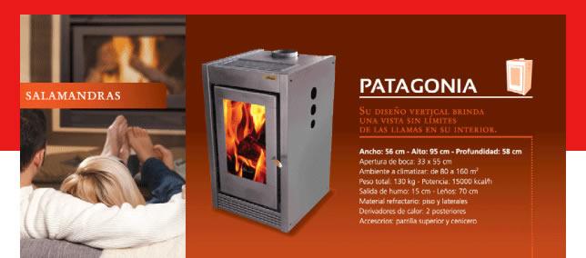 PATAGONIA (15.000 Kcal/h.)